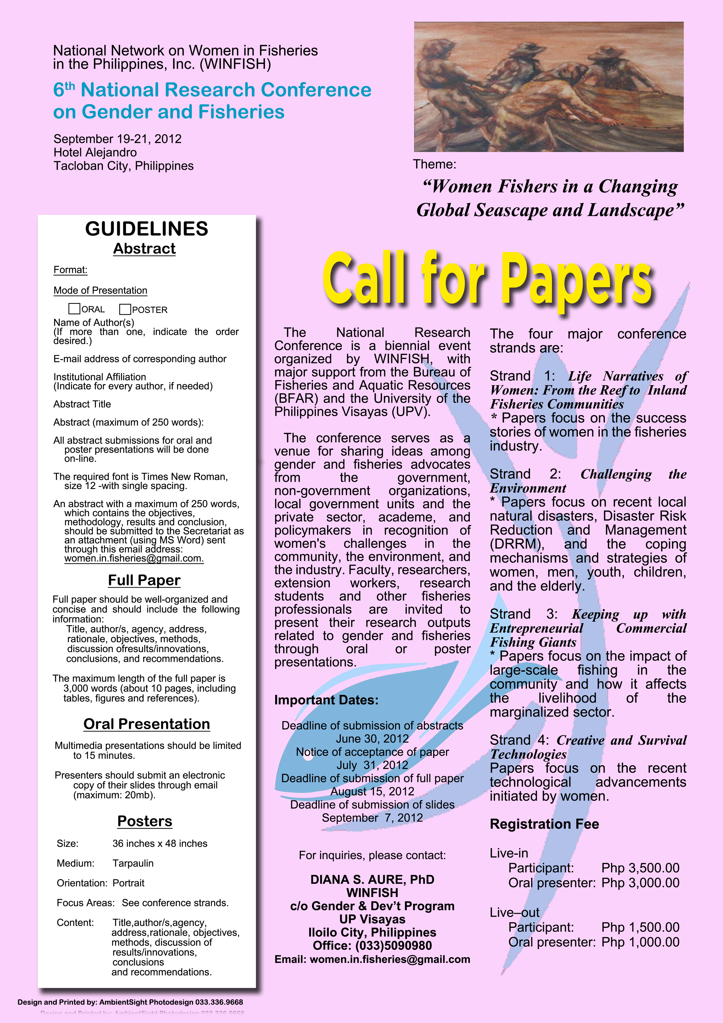 call for research papers 2012 india