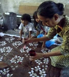 Fitria Majid batik