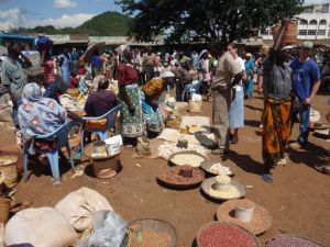 Fish market, Kisimu County, Kenya. Photo source: guide2kenya.com