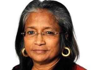 Professor Naila Kabeer. Photo: Arthur,http://trentarthur.ca/ .