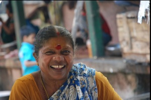 Woman fish seller in Abdul Hakim Market. Photo: Bay of Bengal Programme