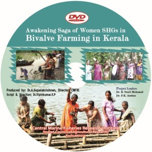 DVD on women mussel farmers in Kerala, and their Self Help Groups.