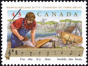 Library and Archives, Canada. 1993 postage stamp.
