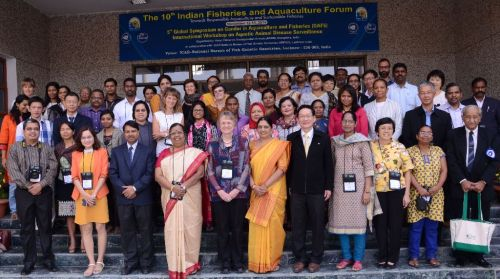 GAF5 attendees on opening day, 13 November 2014, Lucknow, India