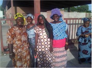 Women fish processors in Sokone, Senegal. Photo: Robert Lee, FAO.